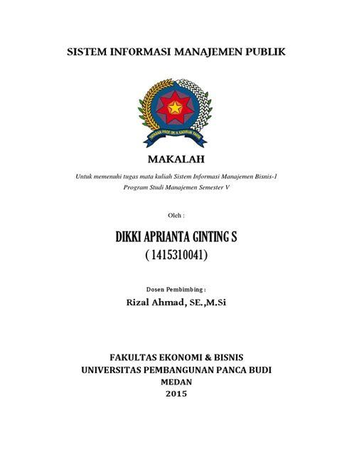 Manajemen Sdm Dalam Organisasi Publik Dan Bisnis Dr H Suwatno sistem informasi manajemen publik