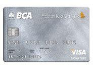 bca visa sq signature co brand cards