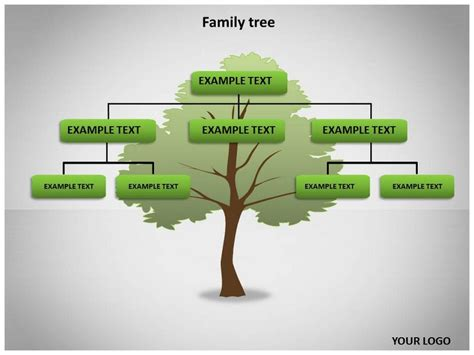 tree template for powerpoint family tree template family tree template photos free