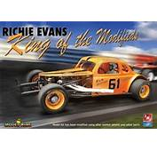 1936 Richie Evans Chevy Coupe Modified Stocker 1/25 See
