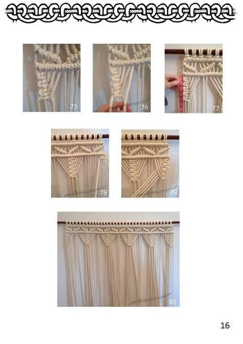 Macrame Pdf - 1000 ideas about macrame curtain on macrame