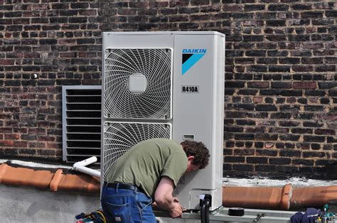 Ac Vrv Fujitsu ny nj ductless air conditioning installation photo