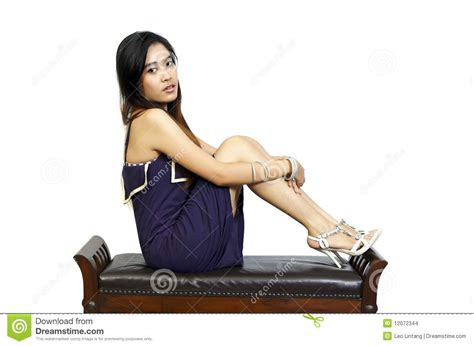 Model Sitting On Chair by Model Sitting On Chair Stock Images Image 12072344