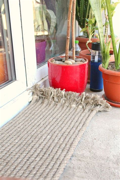 diy outdoor rug diy outdoor rug with rope diyideacenter