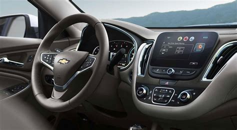 Chevy Malibu 2017 Interior by Space Meets Comfort The 2017 Chevrolet Malibu Interior