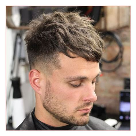 fade haircuts both sides hairstyles long on top short on sides men hairstyles also long fringe