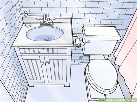 Bathtub Plumbing - how to install a bathtub with pictures wikihow