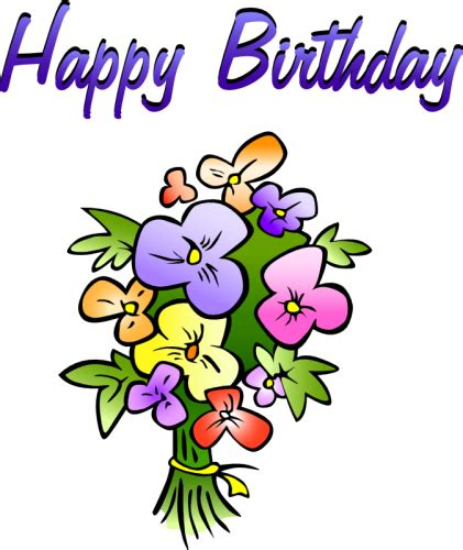 birthday clipart birthday clip photo pictures and images happy