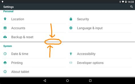 android layout separator user interface android lollipop sections separator