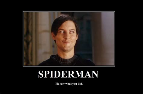 Meme Tobey Maguire - tobey maguire s funny face in spider man 3 became a