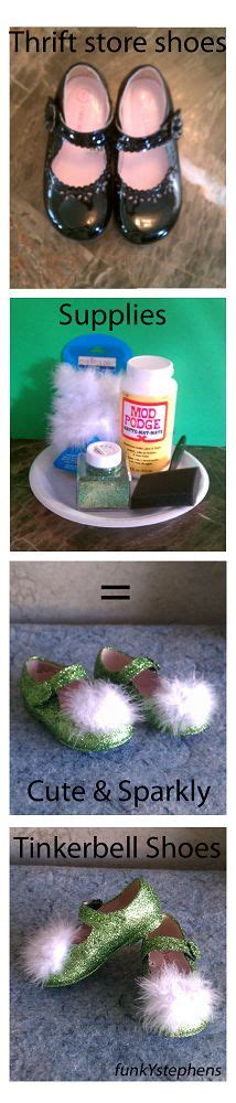 diy tinkerbell shoes 1000 images about disney diy crafts on