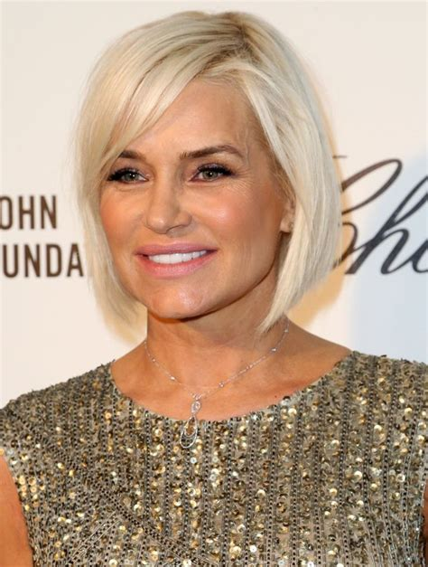 yolanda foster hair color flattering bob hairstyles for older women bobs get well