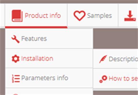 Css3 Menu Bar Css Navigation Bar Free Website Templates With Sidebar Menu