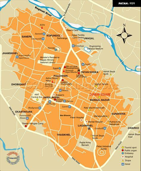 map of lalitpur nepal patan lalitpur nepal guide map patan lalitpur nepal