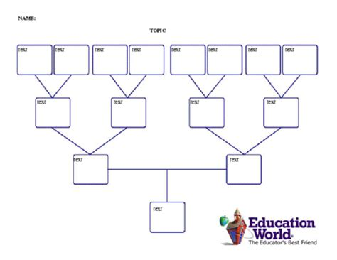 family tree template docs four generation family tree template education world