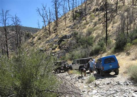 Miller Jeep Trail Roughwheelers Take In Miller Jeep Trail California Four