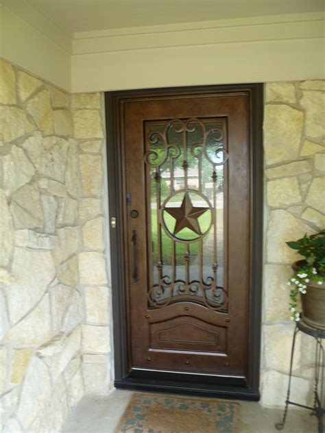 texas lone star iron door aaleadedglasscom texas home