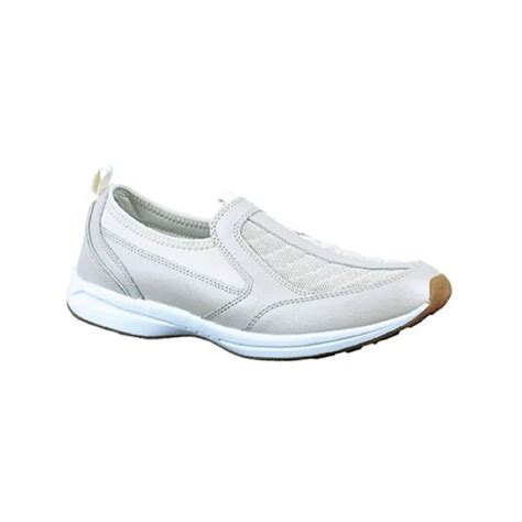 easy spirit athletic shoes easy spirit piers white casual slip on athletic