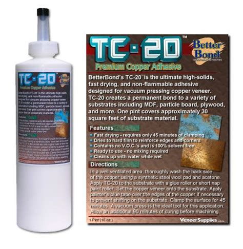 Tc 20 Copper Adhesive Bonds Like No Other