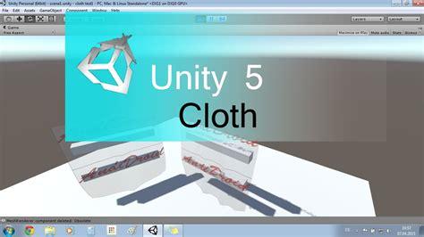 unity tutorial german unity 5 cloth tutorial german hd youtube