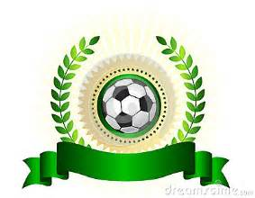 soccer championship logo shield stock photo image 30813310