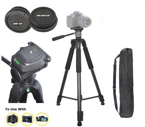 Tripod Kamera Nikon D3100 72 quot tripod for nikon d3200 d5100 d3100 d300s d5000 d3000 lens rear cap ebay
