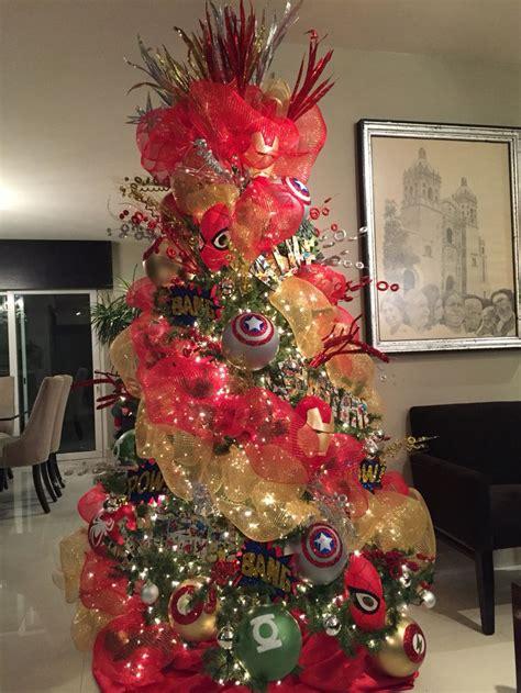 avengers christmas tree navidad pinterest trees