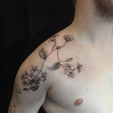honeysuckle tattoo best 25 honeysuckle ideas on