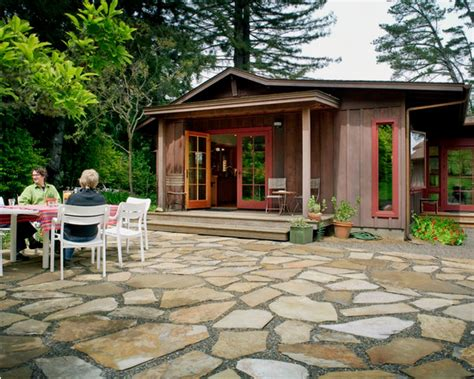 House Patios by Small Cozy Home Plans