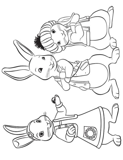 nick jr draw and play coloring pages lily peter and benjamin to print crafts pinterest