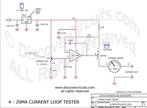4 20ma loop wiring diagram plc analog input card wiring