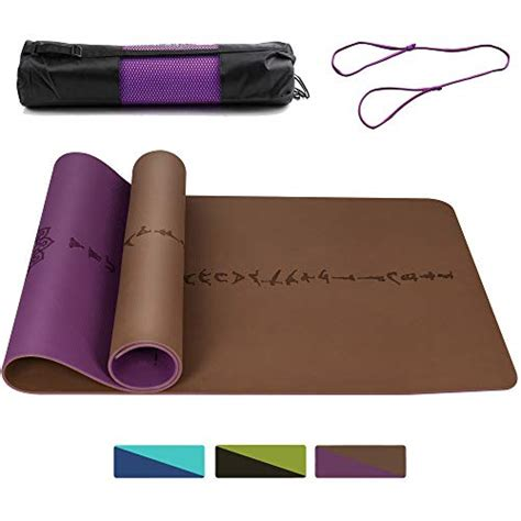 thick and wide mats daway wide thick tpe mat y9 eco friendly pilates