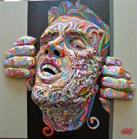 imagenes abstractas tridimensionales pinturas tridimensionales im 225 genes taringa