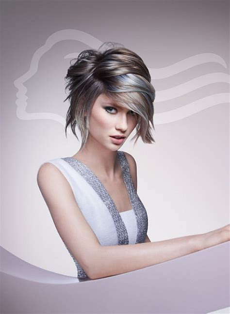 wella hairstyles a medium brown hairstyle from the wella collection no 19234