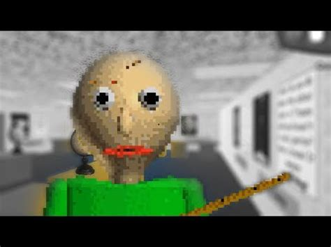 baldi's basics in education and learning jumpscare