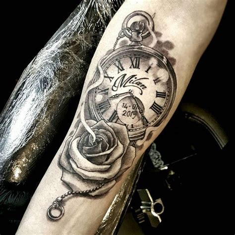 tattoo of us watch pocket watch tattoolove tattoo tattoolife inked