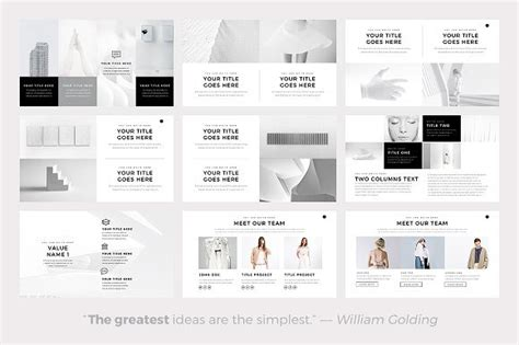 graphic design principles for powerpoint neue minimal powerpoint template by slidepro on pantone