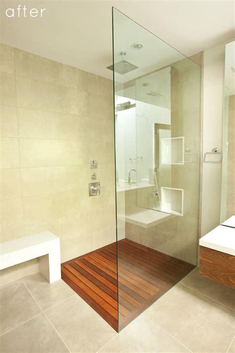 design sponge bathroom before after minimalist bathroom makeover design sponge