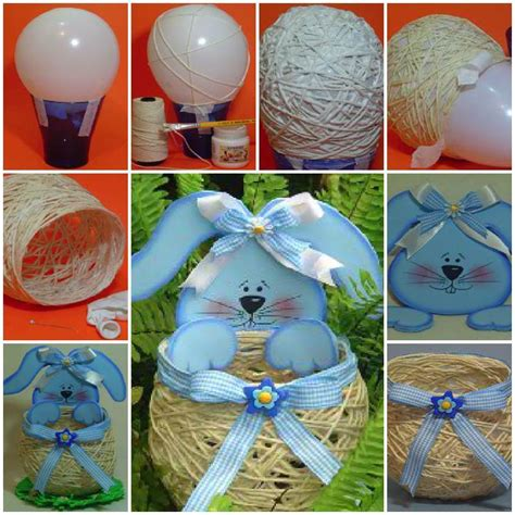 diy easter basket ideas diy easy cardboard easter basket