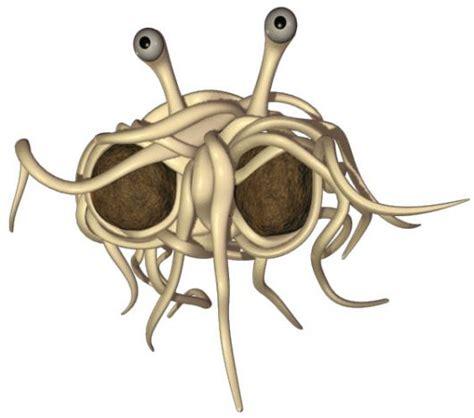 mostro spaghetti volante sandwalk the flying spaghetti steals meatballs