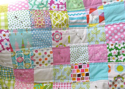 Sew Simple Quilt by Flowerpress Learn To Sew Simple Baby Quilt Tutorial