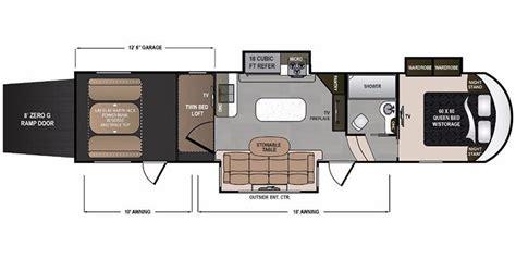 voltage rv floor plans full specs for 2018 dutchmen voltage v3655 rvs rvusa com