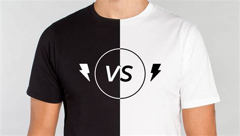 White Shirt Black by Does A White Or Black T Shirt Sell Better