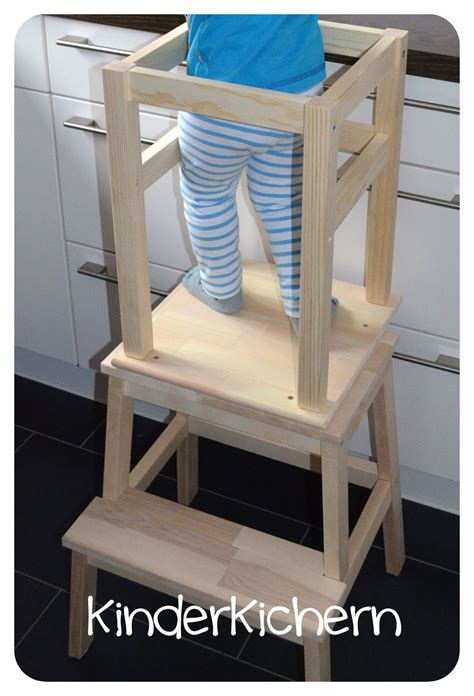ikea hack learning tower kinderkichern anleitung f 252 r einen learning tower