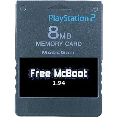 Memory Card Free Mcboot Free Mcboot 1 94 Memory Card 8mb For Sony Playstation 2