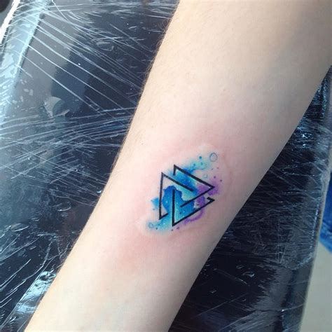 tr tattoo designs tr ab tatuajes triangulos colorful color
