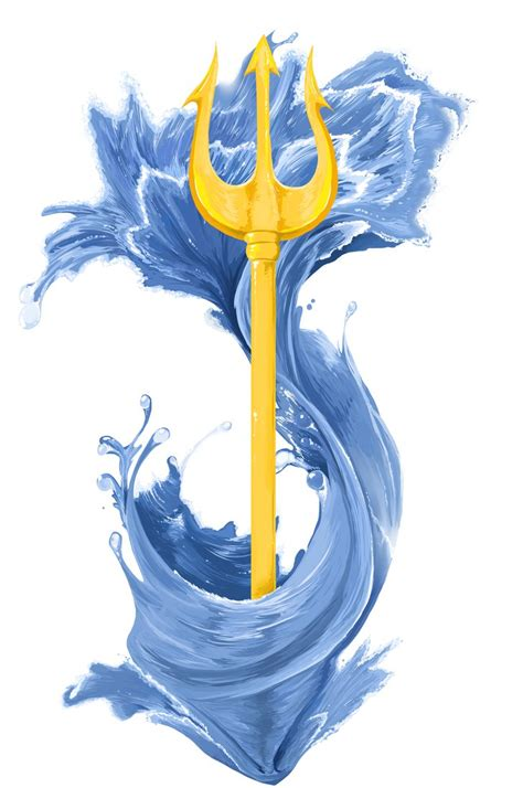 poseidon s trident tattoo by pumpkinsoup on deviantart