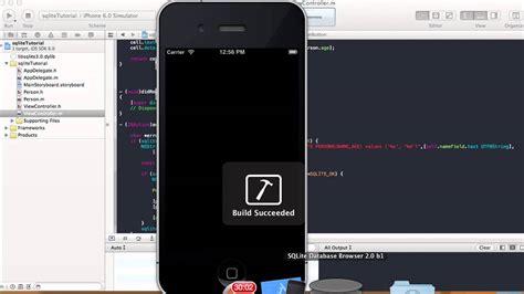 sqlite tutorial for xcode sqlite tutorial add display delete xcode 4 5 youtube