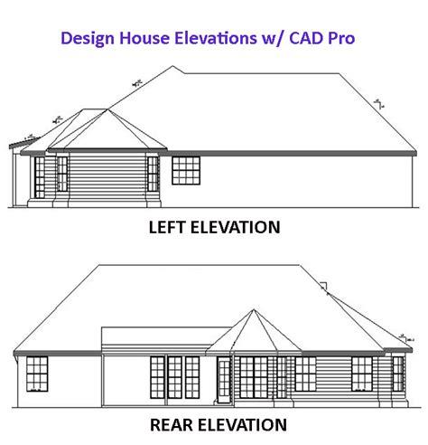Home Designer Pro Elevations by House Elevation Design Cad Pro