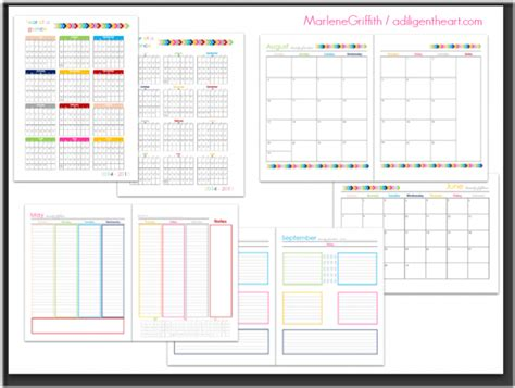 daily planner june 2015 2014 2015 digital planner callista s ramblings
